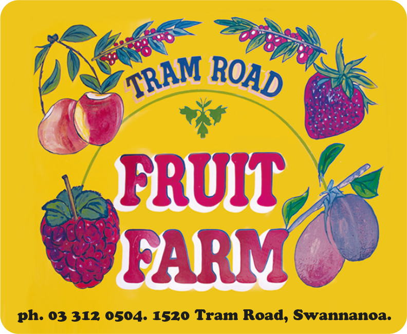 Tram Road Fruit Farm, Ohoka Canterbury Orchard